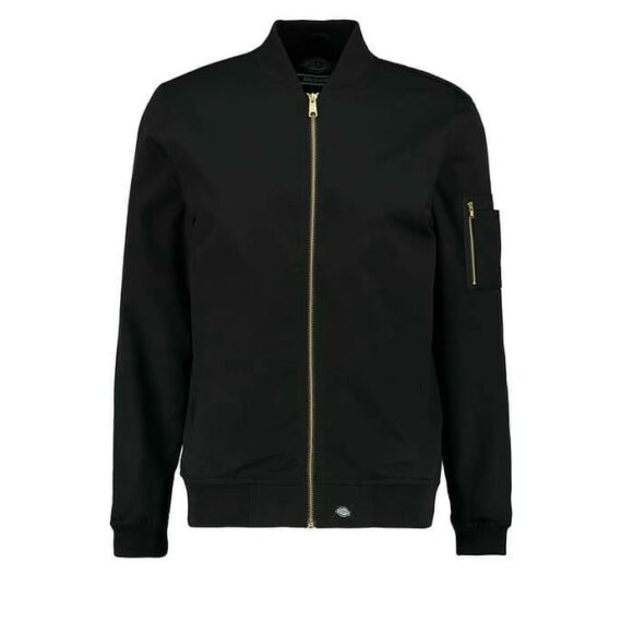 07 200230-L-HUGHSON kabát- fekete