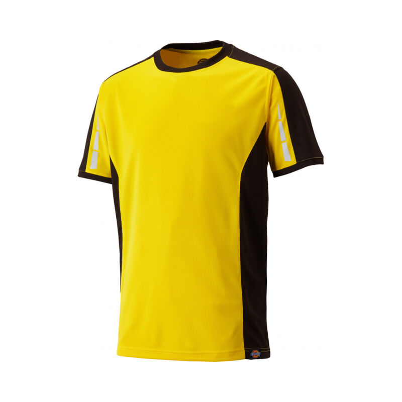 DP1002 - Dickies Pro T-shirt - S - Yellow