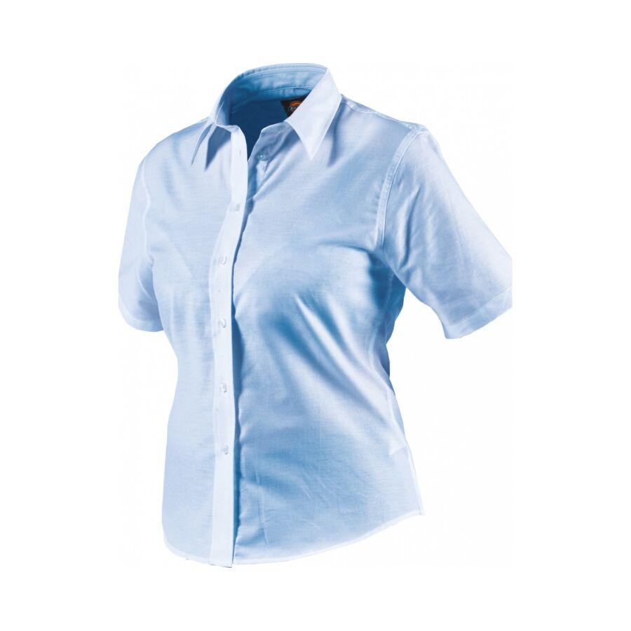 Munkaruha ing rövid ujjú SH64350-14-White-Női Oxford - Munkapoló ff8d9a6a65